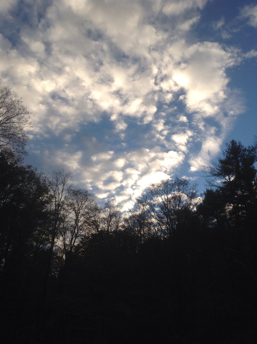 My sky yesterday afternoon...